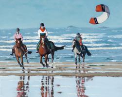 Chevaux sur la plage de Quiberon I