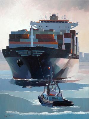 Lumieres portuaires N°5